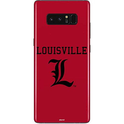 Skinit Louisville Cardinals Galaxy Note 8 Skin - Officially Licensed College Phone Decal - Ultra Thin, Lightweight Vinyl Decal Protection ()