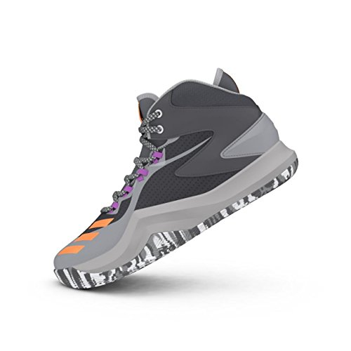 adidas D Rose Dominate IV, Chaussures de Basketball Homme, Gris (Grpudg/Narbri/Grpuch), 42 EU