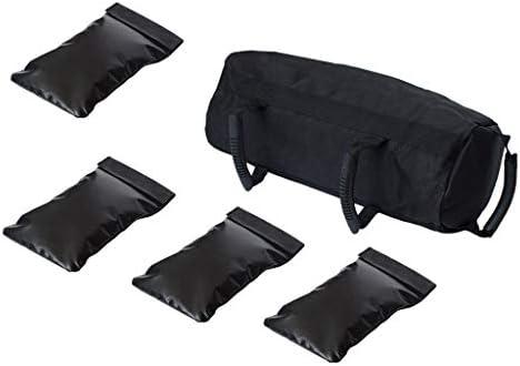 Tachiuwa 5パックウェイトサンドバッグトレーニングヨガヘビーデューティトレーニングジムサンドバッグ