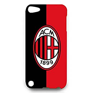 Associazione Calcio Milan Logo Phone Case for Ipod Touch 5 3D Black Slip On Cover