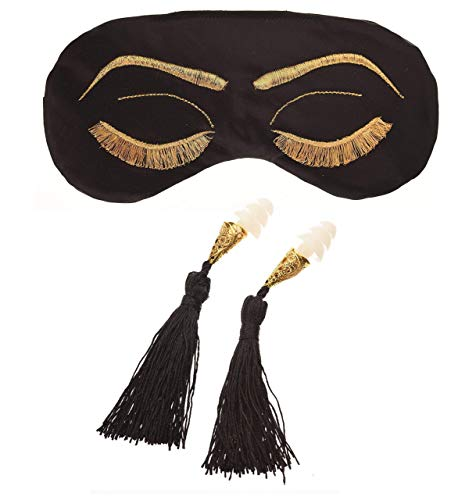 After Midnight Vintage Glam Sleep Mask and Earplugs -