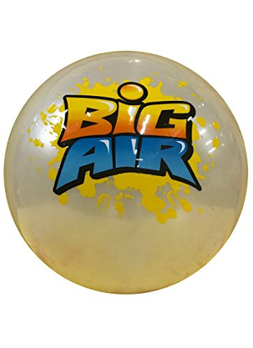 (Wave Runner Big Air Ball Indoor and Outdoor Inflatable Beach Balls (White, X-Large))