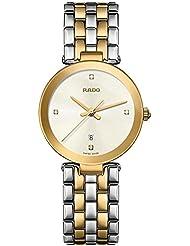 Rado Womens Florence Diamonds 28mm Multicolor Two Tone Steel Bracelet Steel Case Quartz Watch R48872723