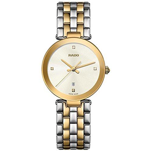Rado Women's Florence Diamonds 28mm Multicolor Two Tone Steel Bracelet Steel Case Quartz Watch R48872723