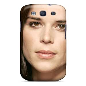 WhRivera Case Cover For Galaxy S3 - Retailer Packaging Neve Campbell Hollywood Films Protective Case