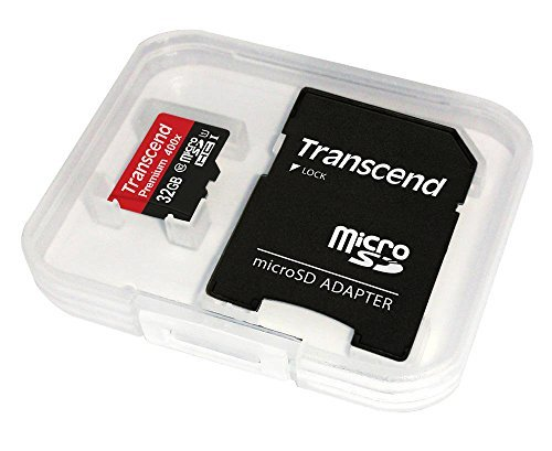 Transcend 16GB MicroSDHC Class 10 UHS-1 Memory Card with Adapter Up to 60MB/s (TS16GUSDU1P) 3 Supports Ultra High Speed Class 1 specification (U1); Class 10 compliant Up to 60 MB/s Smooth Full HD video recording performance