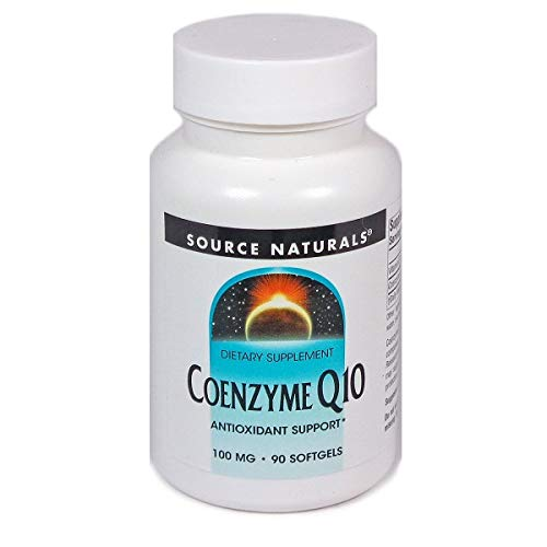Source Naturals CoQ10 Coenzyme Q10 100mg Maximum Strength - Stay Healthy & Active - 90 Softgels