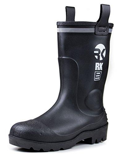 rk-mens-waterproof-rubber-sole-rain-boots-11-black