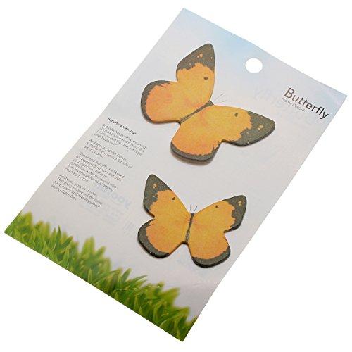 KINGSO Sticky Notes Memo Flags Butterfly Shape 40pcs random