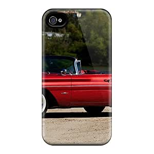 Mwaerke TBxXWnf3470OyJxu Protective Case For Iphone 4/4s(60 Pontiac Bonneville Tri Power)