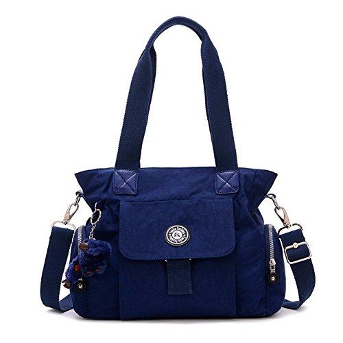 Fiorelli Costume Jewellery (HIFISH HB110008C3 Nylon Korean Version Women's Handbag,Square Cross-Section Saddle Bag)