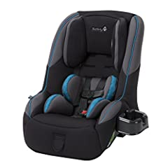 Safety 1st gives you more space with the SportFit 65 Convertible Car Seat. In rear-facing mode, the SportFit is designed to take up less space than other car seats, leaving more room in the front seats of the car. It will also fit 3 across in...