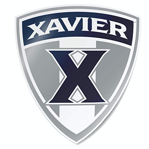 Nudge Printing Xavier University Musketeers X Shield Car Window Decal Bumper Sticker ()
