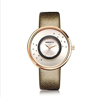 Fashion Lady Quartz Watch Lady Lover Reloj para Mujer Reloj ...