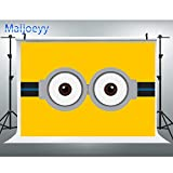 Maijoeyy 7x5ft Photography Backdrops Minions Eyes Photo Backdrop Yellow Photo Booths Props Photography Props CKDZ318115040
