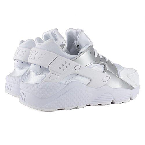 Calzado deportivo para hombre, color Blanco , marca NIKE, modelo Calzado Deportivo Para Hombre NIKE NIKE AIR HUARACHE Blanco BIANCO/ARGENTO