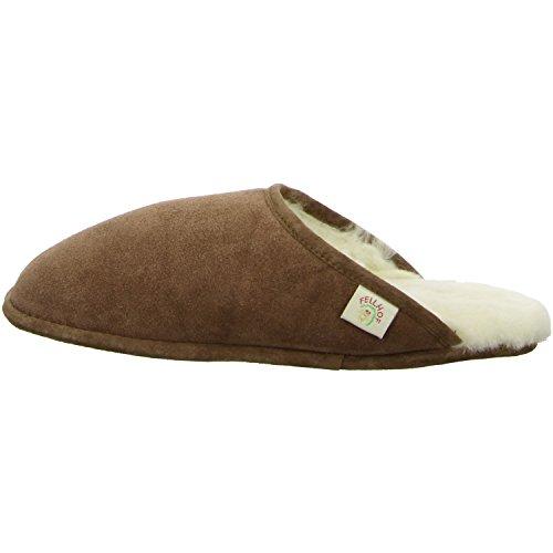 Pecora Marrone Trendy Pantofola Di Pelle wXqOq1AxE
