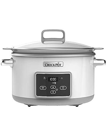 competitive price 87cc9 55c3f Crock-Pot CSC026 Duraceramic Saute Slow Cooker, 5 Litre