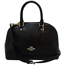 Coach Women's Shoulder Inclined Shoulder Handbag Mini Sierra Satchel Purse
