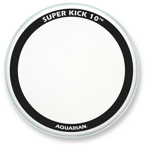 Coated 20 Bass Drum - Aquarian Super-Kick 10 Bass Drum Head White Coated 20 in.