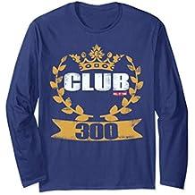 Club 300 Awesome Bowling Team Shirt Men Women Kids