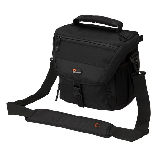 Lowepro Nova 170 AW Camera Bag (Black) Camera Backpacks at amazon