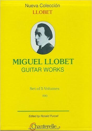 Miguel Llobet Guitar Works: Amazon.es: Llobet, Miguel ...