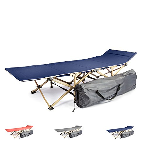Camping cot portable folding bed for adults and kids | While camping or backpacking take our foldable cots for sleeping or just rest | Our fold up travel camp beds are heavy duty and lightweight by KyRush It