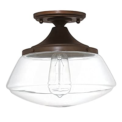 Capital Lighting 3537BB-134 One Light Ceiling Fixture
