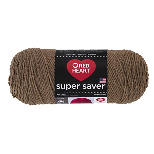839cbc1e25ab8 Red Heart Super Saver Yarn, Cafe Latte