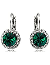 Sale At Cut-throat Prices Cheap Round Crystal Dangle Earring For Woman Gold PE001