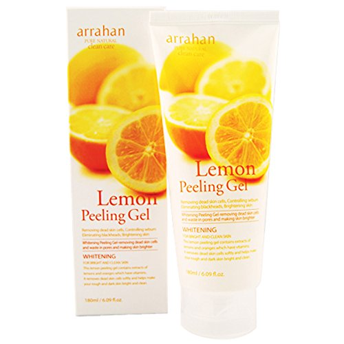lemon sparkling peeling gel instructions