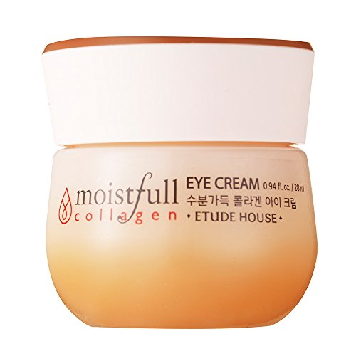 Etude House New Moistfull Collagen Eye Cream, 0.94 Ounce Collagen Filler Eye