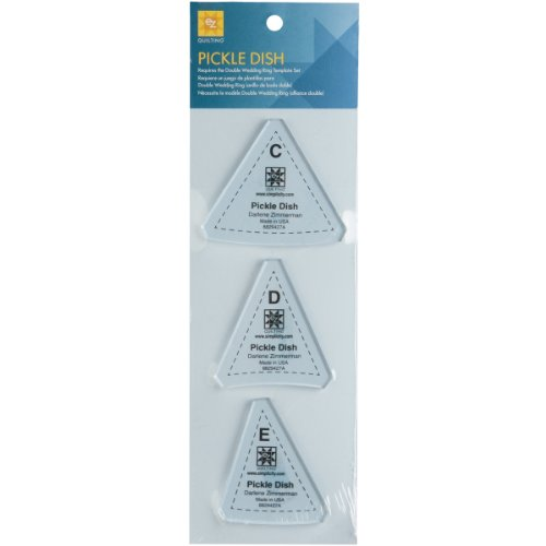 (Wrights 8829427A Pickle Dish Template, 3-Pack )