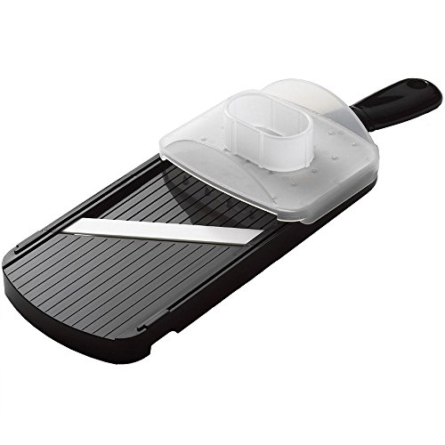 Kyocera Advanced Ceramic Double-edged Mandolin Slicer With Guard, Black (Best Cut Of Beef For Stir Fry)