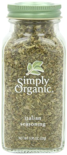 Simply Organic Italian Seasoning Certified Organic, 0.95-Ounce (Pizza Seasoning Blend)