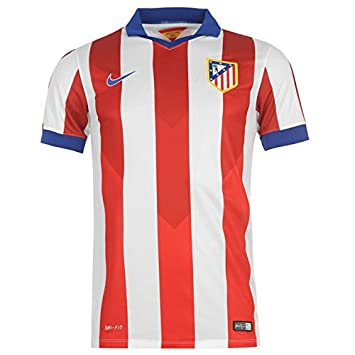 63ee354b0 Nike 2014-15 Atletico Madrid Home Football Shirt: Amazon.co.uk: Sports &  Outdoors