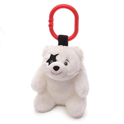 - Gund Baby My First Kiss Star Child Stuffed Baby Rattle, Teddy Bear