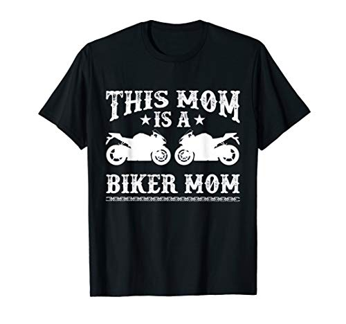 (Motorcycle Shirt Biker Mama Tees Mothers Day)