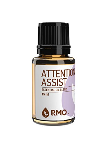Rocky Mountain Essential Oil - Rocky Mountain Oils - Attention Assist - 15 ml - 100% Pure and Natural Essential Oil Blend