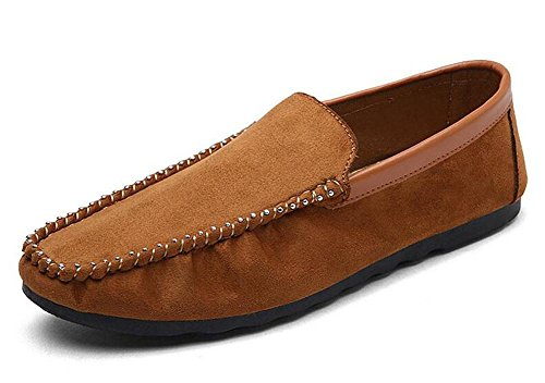 Zapatos de los hombres de los pies de los pies Zapatos de los guisantes de los hombres , black , 44
