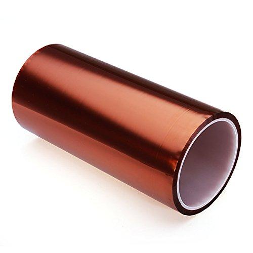 3D Printer Heatproof Heat Resisting Resistant Proof Tape 200mm x 30m by BephaMart