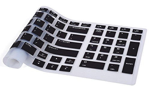 CaseBuy Soft Silicone Gel Keyboard Cover Protector Skin for