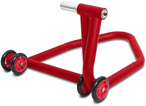 Rear Paddock Stand Ducati 848 08-10 ConStands Single One red
