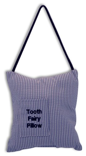 Caught Ya Lookin' Tooth Fairy Pillow, Seersucker (Seersucker Baby Bedding)