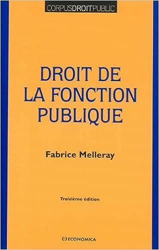 Droit de la Fonction Publique pdf