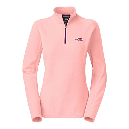 The North Face Glacier 14 Zip Fleece Womens Ballet Pink M
