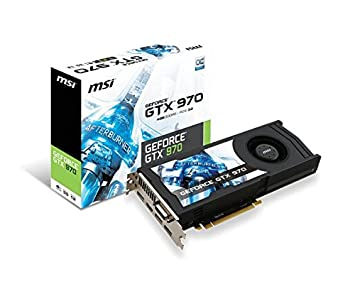 Amazon.com: MSI GF GTX 970 4 GD5 OC 4 GB ddr5, V317 – 001R ...