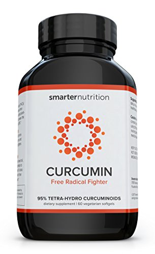 Curcumin by Smarter Nutrition - Potency and Absorption in a SoftGel (1 Month Supply)