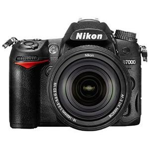 Nikon D7000 16.2MP DX-Format CMOS Digital SLR Camera with 18-140mm f/3.5-5.6G ED VR AF-S DX NIKKOR Zoom Lens, Black